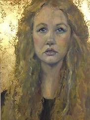 girl portrait oil painting