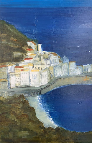 Amalfi Coast painting