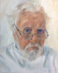 oil portrait john