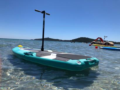 Trottinette électrique des mers