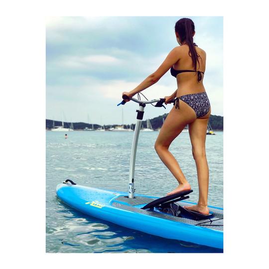 Step paddle !