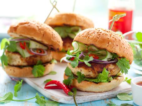 Turkey Burgers With Zucchini
