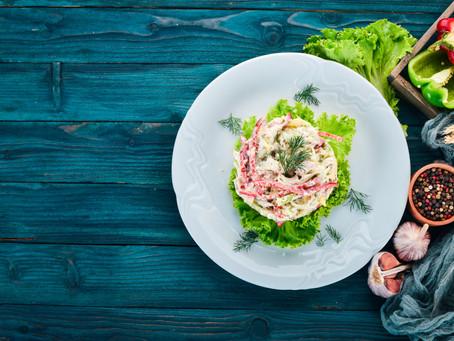 West Coast Crab Louis Salad
