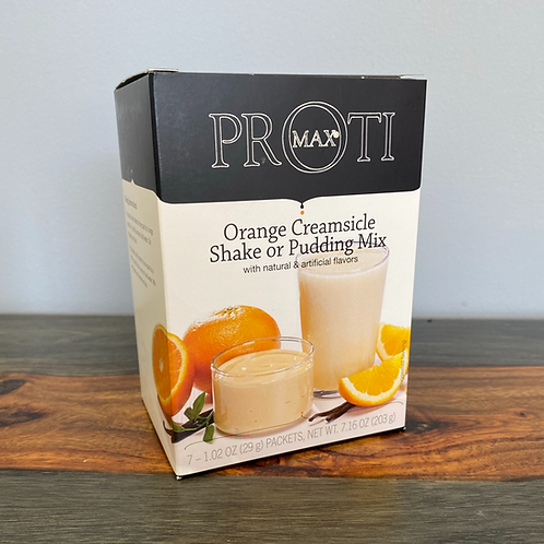 Orange Creamsicle Shake or Pudding Mix