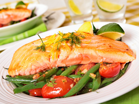 Salmon Green Bean Salad