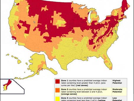 Do you live in a high radon area?