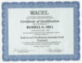 WACEL soil technician certification