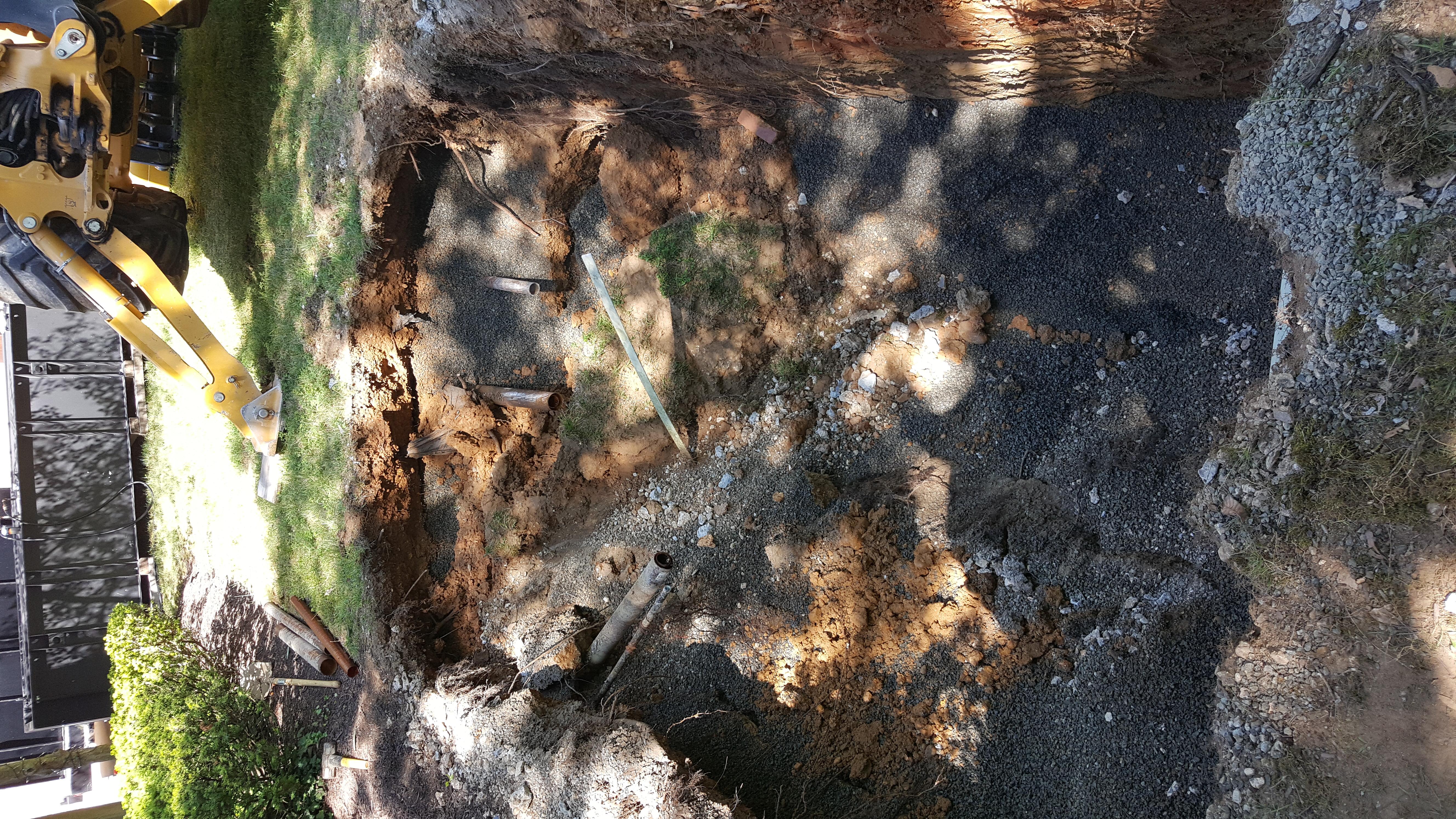 UST Excavation Backfilled