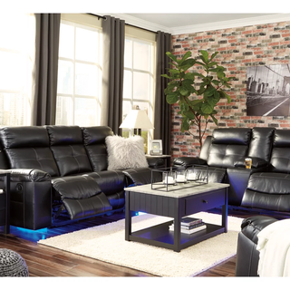 Kempten Manual Reclining Sofa & Love Seat