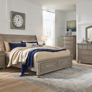 Lettner 8 Piece Sleigh Bed Set