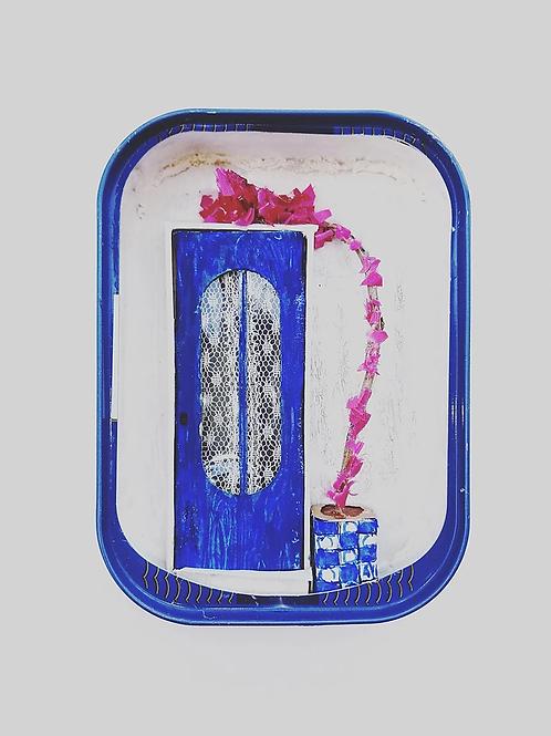 Sardine Can Miniature Door