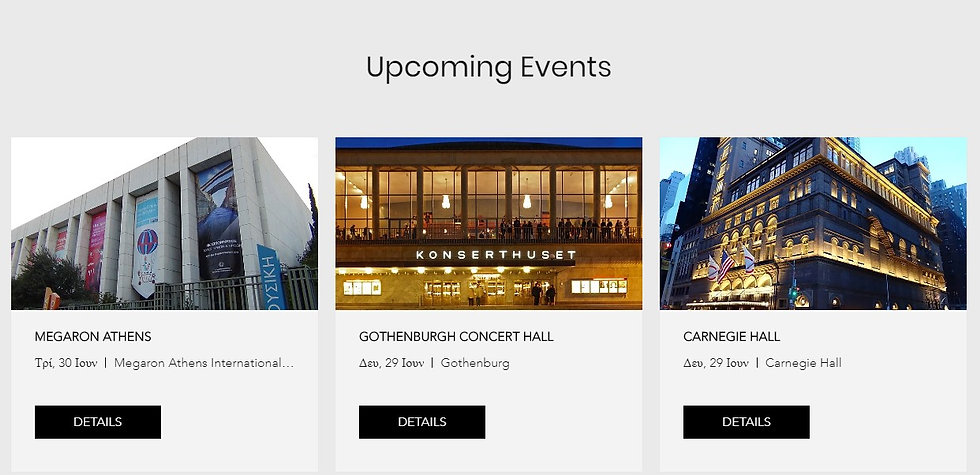 Christian Svarvar upcoming events