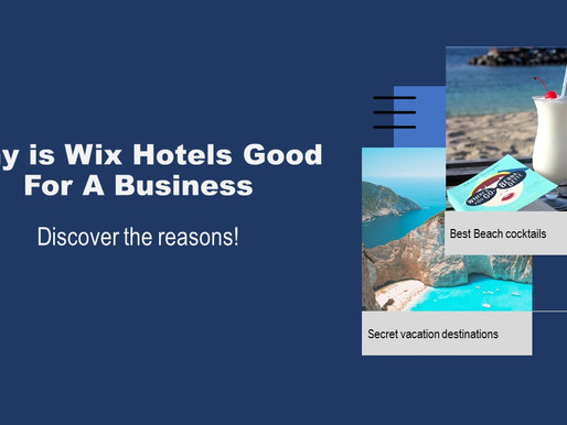 Wix Hotels Direct Booking Engine for Hospitality Outlets.