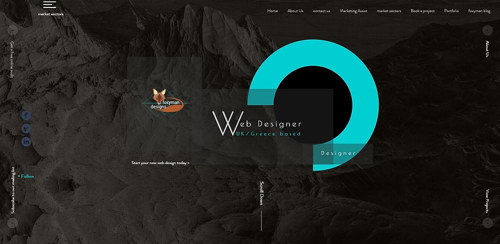 FOXYMAN DESIGNS Web design platforms