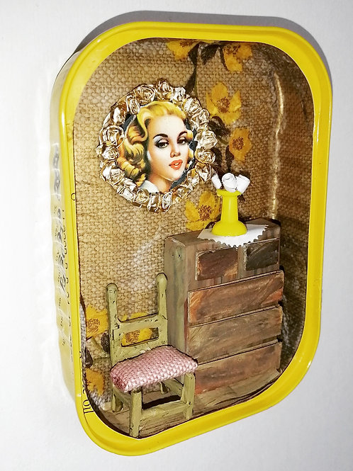 Sardine Can Miniature Room