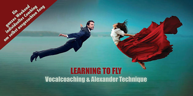 Learning to fly - Workshop Flyer - Front