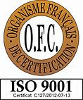 Logo OFC ISO 9001 C127-2012-07-13 (sans