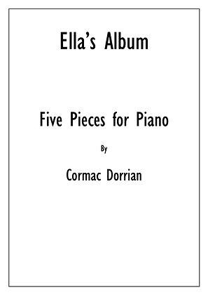 Ella's Album - Five Pieces For Piano