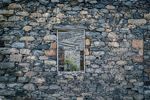 Audrey Viste - Ruines Cap vert - 30 x 45 cm