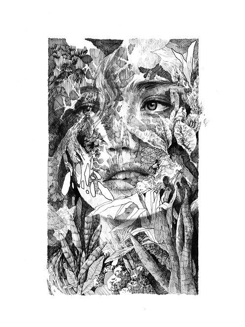 Femme Sauvage 01  par Clara Langelez