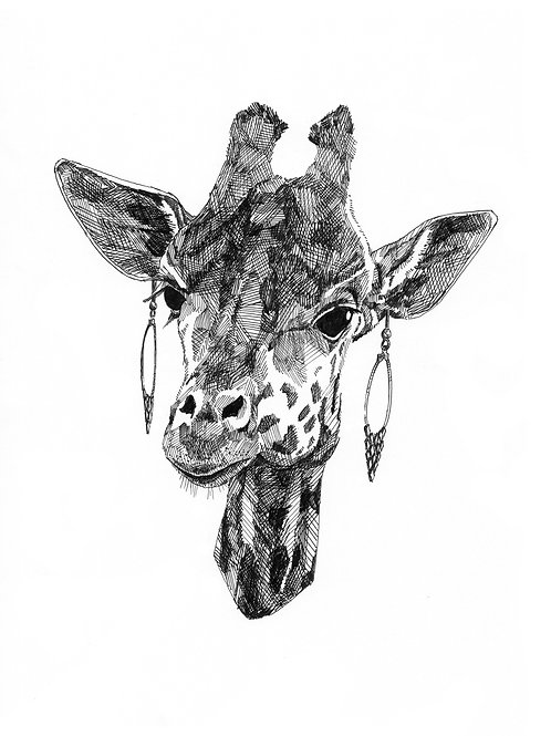 Prag - Girafe