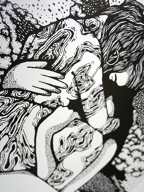 Sérigaphie sans titre - Chloé Guillermain