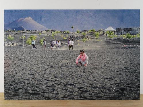 Audrey Viste - Jeunesse du volcan - 40 x 60 cm - sur dibon