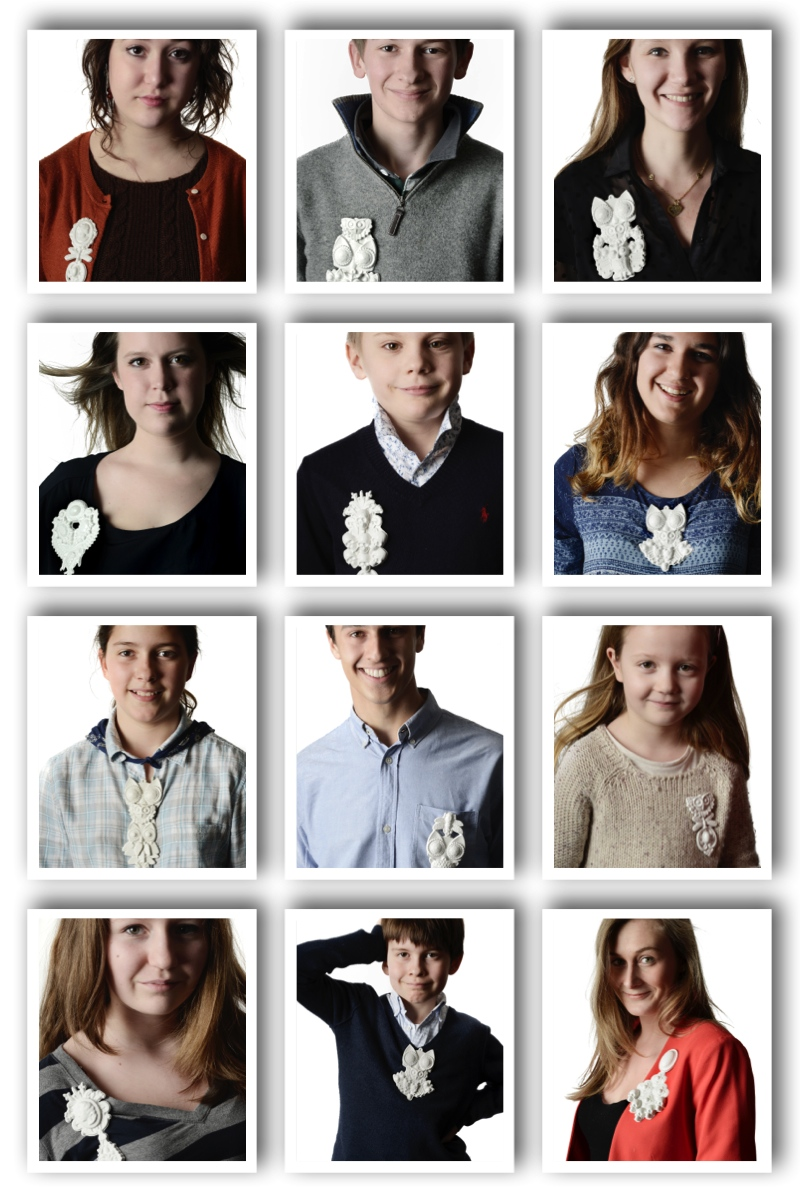 Collage portraits - Isabelle BUSNEL