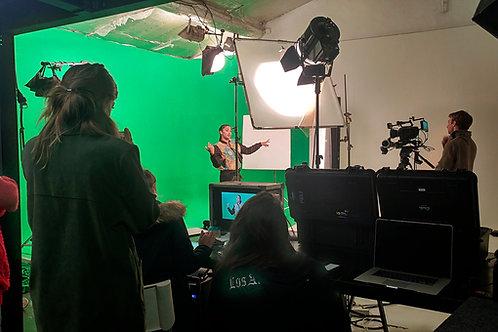 Journée de location studio photo video