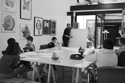 Atelier BD Manga à l'année (x3)