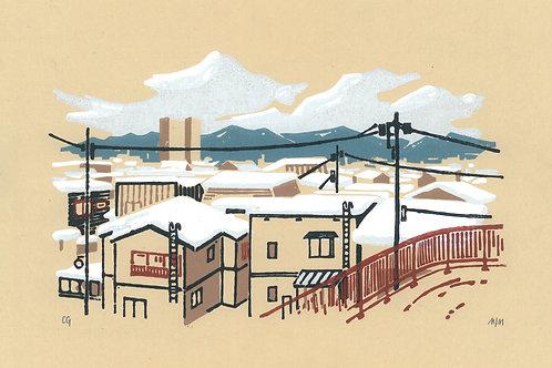 Aomori - Les toits