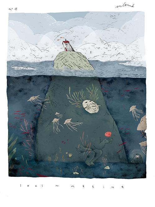 'Sous-Marine' par Parfois Salomé