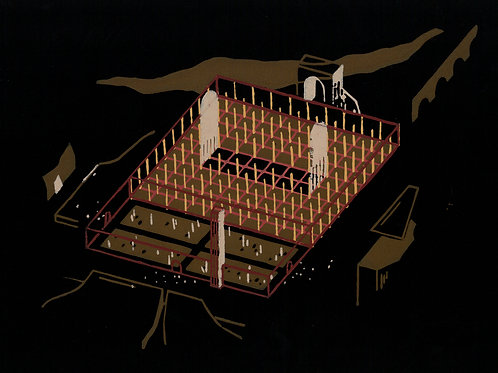 Cordoue - Mosquée-cathédrale , Etude 01