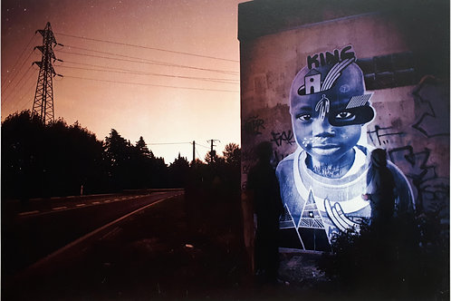 King on wall par CLEPS