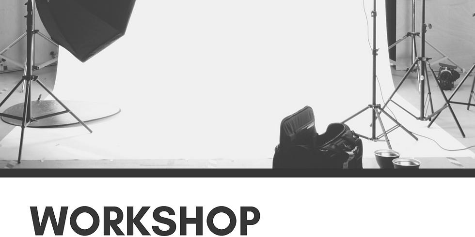WORKSHOP - Cours de photographie - gestion appareil photo et lumière en studio