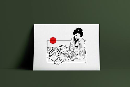Geisha par Harmo