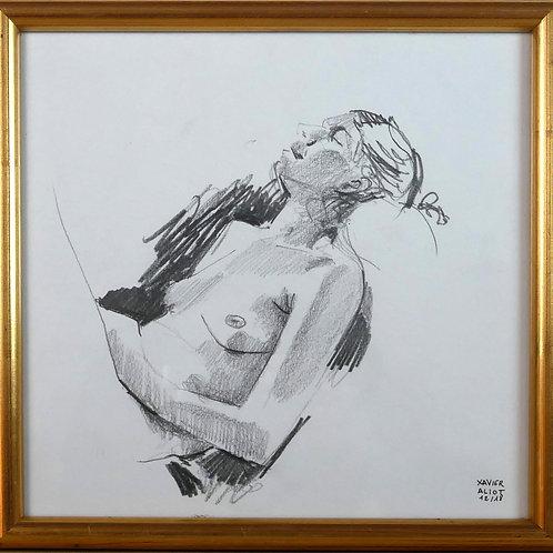 Xavier Aliot - nu alongé