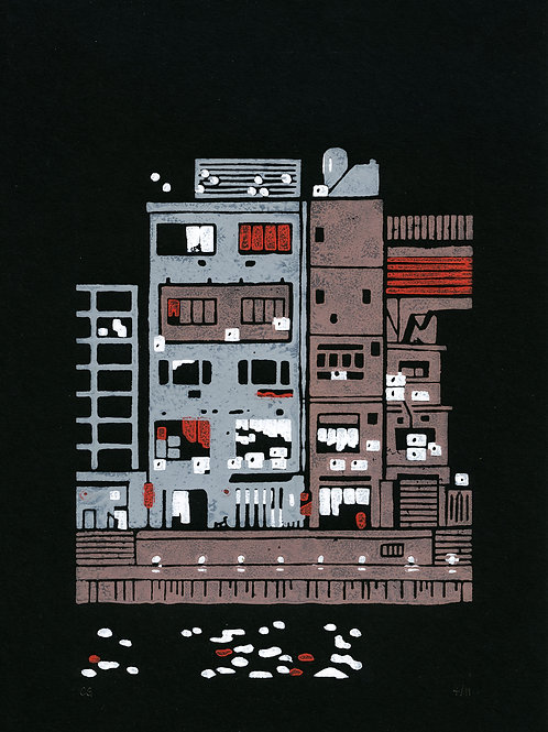 Colin Gravot - Osaka - Immeuble, 2019