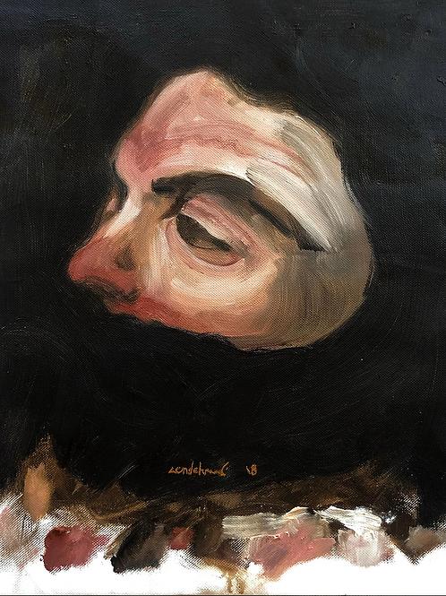 MAZIAR - Etude pour un portrait, 2019