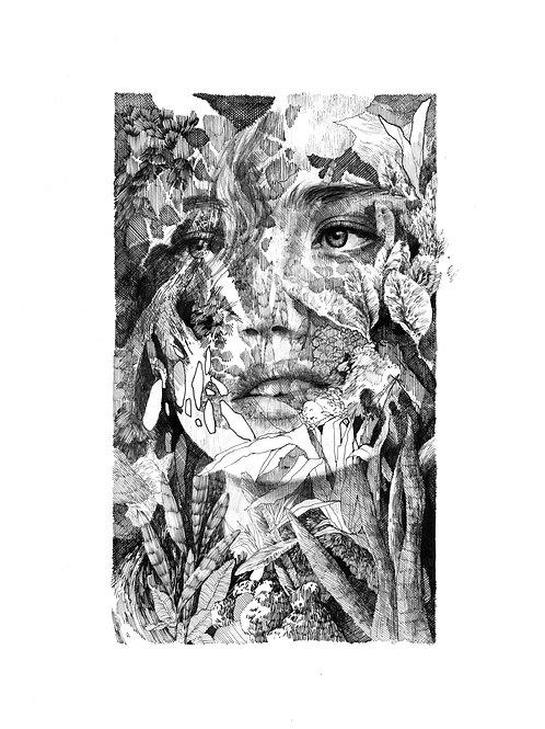 ORIGINAL • Femme Sauvage 04  par Clara Langelez
