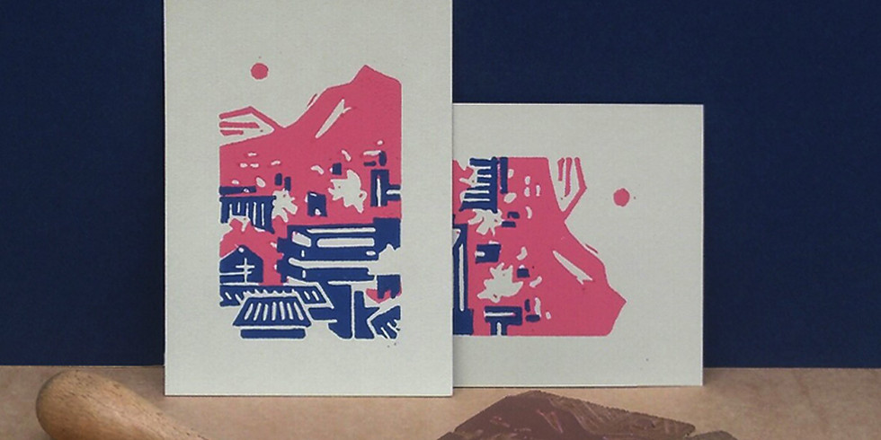 Atelier LINOGRAVURE et PAYSAGE