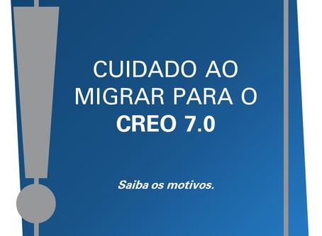 Cuidados antes de migrar para o Creo 7.0