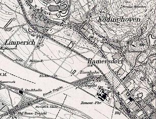 Ramersdorf_Messtischblatt von 1895_Deuts