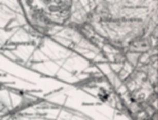 Ramersdorf Stadt Bonn Messtischblatt 1895 berichtigt 1910