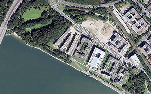 Luftbild Zementwerk-Areal Bonner Bogen 2016