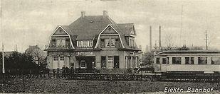 Elektrischer Bahnhof Ramersdorf_Postkart