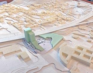 Studentischer Entwurf_U-Bahnareal Ramers