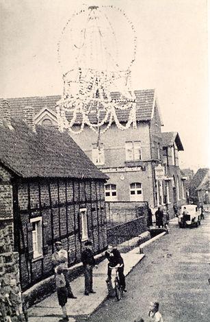 Ramersdorf Eierkrone alter Dorfplatz 1935 Lindenstraße Mehlemstraße