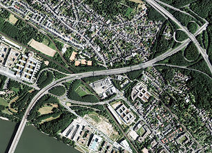 Luftbild Ramersdorf gesamt 2013 Bundesstadt Bonn
