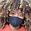 Thumbnail: Black Bamboo Fashion Mask